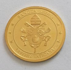 Vatican - 1/10oz gold coin medal 2009