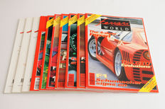 Lot of 10 Ferrari World Magazines