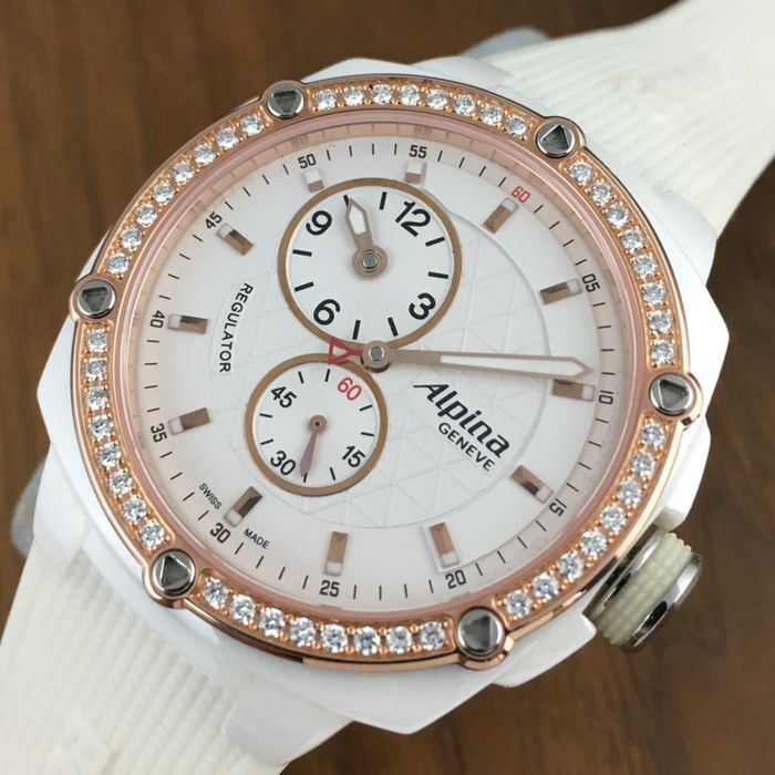 Alpina Geneve Diamonds Avalanche Extreme Ref. AL650X3AEC4/6  - Women´s  Watch - New Old Stock