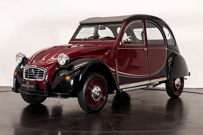 citro u00ebn - 2cv sp u00e9ciale couleur charleston - 1982