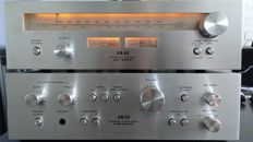 Akai AM 2200 amplifier + AT 2200 tuner in very good condition