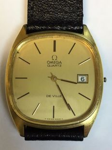 OMEGA De Ville  no battery no winder so can not test