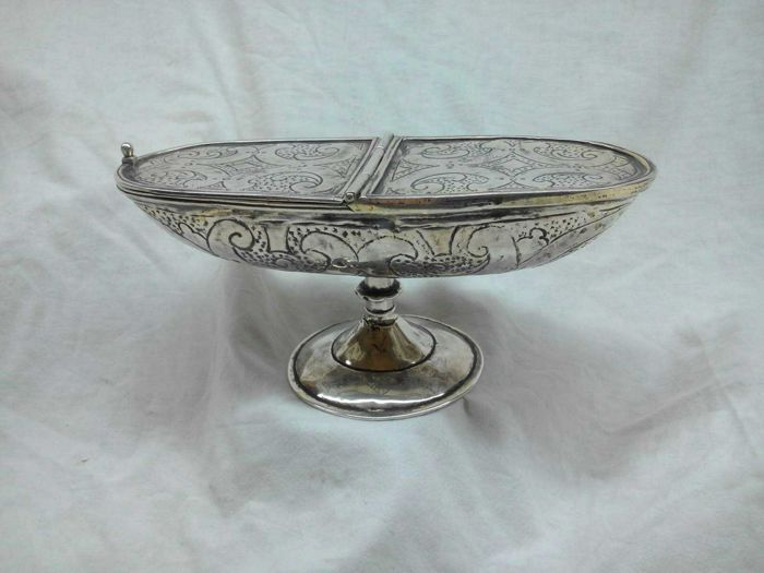 Silver incense boat, 18th century