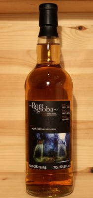 North British 1991/2016, aged 25 years old Single Grain Scotch Whisky, Private Cask, Port Sgioba by Whiskybroker