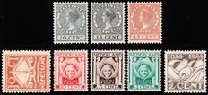The Netherlands 1924 - Three complete series - NVPH 136/138, 139/140 and 141/143