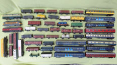 Lima/Piko/Jouef H0-3 47 locomotives and wagons