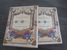 British Commonwealth - Royal Wedding stamps of Prince Charles and Lady Diana Spencer