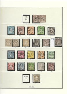 Switzerland 1854/1984 - collection in two albums