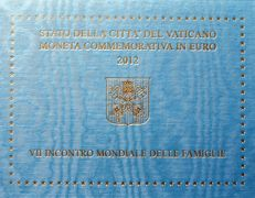 Vatican – 2 Euro – 2012 – World Meeting of Families in Milan in Blister Packaging