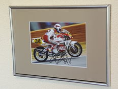 Kevin Schwantz - Worldchampion MotoGP 1993 - hand signed framed photo + COA.