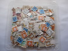 Portugal – Box of more than 14,000 stamps; huge variety.