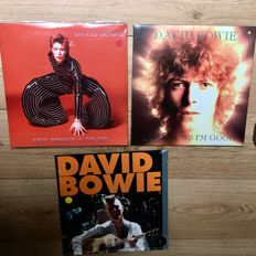 David Bowie collection || 3 LP's || 2 Live recordings, 1 Demo || Still in sealing