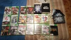 Xbox 360 4GB - With HDMI cable and 18 Games