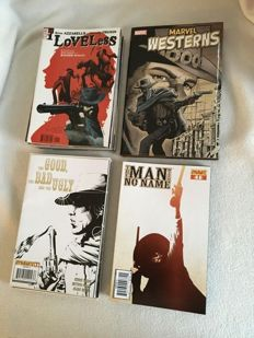 The Good, The Bad and the Ugly 1-8 + The man with no name 1-11 + Loveless 1-24 + Marvel western - 44x sc + 1x hc - (2005 / 2010)