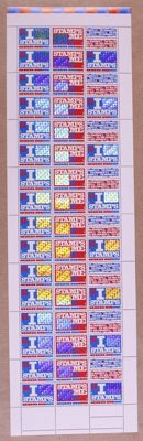 The Netherlands 1999 – Surprise stamps – NVPH 1824/1825 in stamp sheet