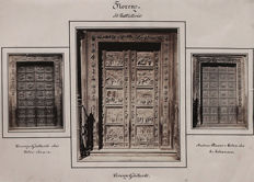 Unknown (19th century) - Florence baptistery door studies, Italy