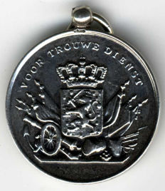 "The Netherlands - Silver medal ""For Faithful Service"""