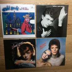David Bowie classic collection || 4 LP's || Still in sealing