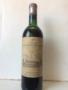 1961 Château Mission Haut Brion, Pessac Leognan - 1 bottle (75cl)