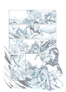 Abad, Juan Antonio - Original pre-production page - All New X-Men - (2016)