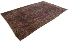 ANTIQUE genuine Persian rug – Original - Hand-knotted - American Sarouk - Persia / Iran – 274 x 170 cm – Era: 1940-1950 – With certificate of authenticity from an official appraiser (Galleriafarah1970)