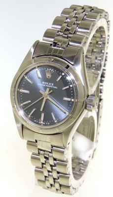 Rolex Oyster perpetual ladies wrist watch (our internal #6878)