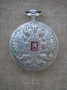 Molnija - Pocket watch USSR  - Georges the Victorious - 1989s