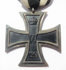 German original medal Iron Cross 2nd class in good condition - WW1