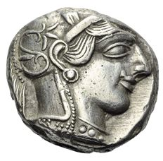 Greek Antiquity - Attica. Athens. AR Tetradrachm, 454-404 BC