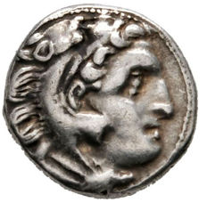 Greek Antiquity - Kings of Macedon. Alexander III. The Great. Silver Drachm. Kolophon mint.  Struck under Antigonos I Monophthalmos, circa 310-301 BC.