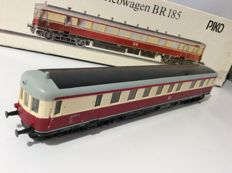 Piko H0 - 5/6106 - Rail-car BR 185 VT 137 - 058-067 of the German State Railroad  (1220)