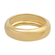 Band in 18 kt yellow gold – size 54