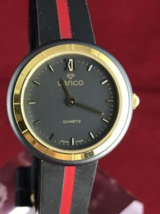 Lanco PVD Quartz – NOS – women's wristwatch – year 1986