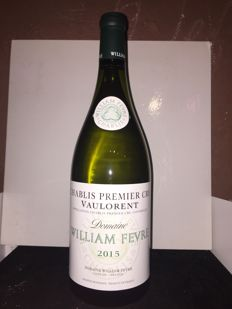 2015 Chablis 1° Cru vaulorent Domaine William Fèvre -  1 magnum 1,5L