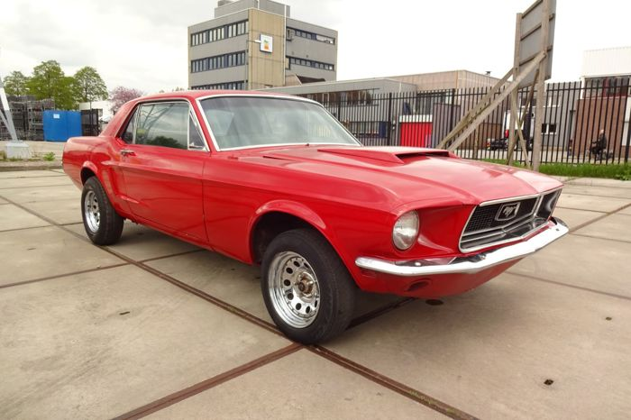 Ford Mustang Hardtop 302 Cuin 5 0 L V8 1968 Catawiki