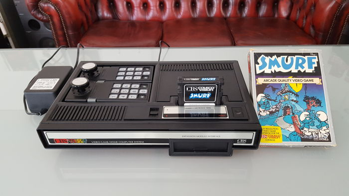 CBS ColecoVision game console + boxed game - Catawiki