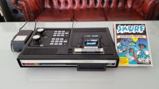 CBS ColecoVision game console + boxed game