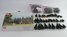 Busch/Heki Scenery  H0 - trees package with +/-165 trees, different types and sizes for the model railroad