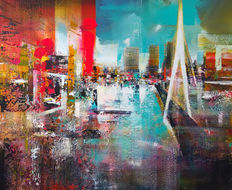 Peter Meijer, Rotterdam, city impression