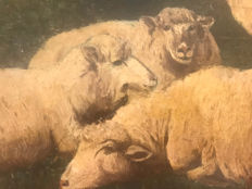 Unknown (19th century) - Sheeps