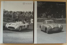 2 Exclusive Books on Mercedes-Benz 300 SL and 300 SLR racing sport cars - Milestones of Motorsports