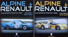 2 Books : Alpine & Renault - The Sports Prototypes - Volume 1 : 1963-69    &   Volume 2 : 1973-78