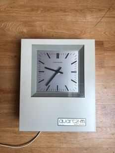 Patek Philippe electric (Mother) clock including original Patek Philippe manual and with EA 3008 Power Supply