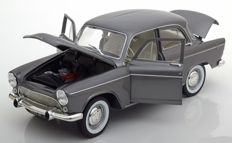 Norev - Scale 1/18 - Simca Aronde Montlhery Speziale 1958 - Colour: Grey Metallic