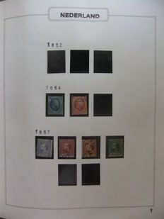 The Netherlands 1864/1972 - Collection in Excellent album