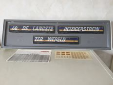 "Märklin H0 - 4391 - Three intercity carriages ""The longest train in the world""  by the NS"