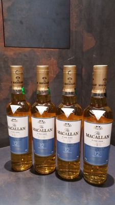 Macallan 12 Fine Oak 350ml x4