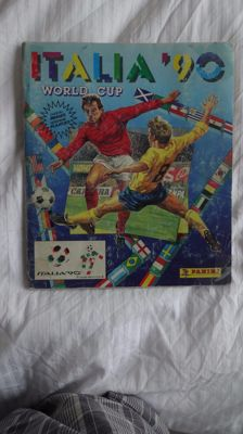 Panini - World Cup Italy 1990 - Complete album.