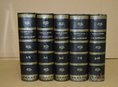 Victor Hugo, Les Misérables - 5 volumes - 1862