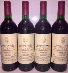 1996 Alion Ribera del Duero - 4 bottles